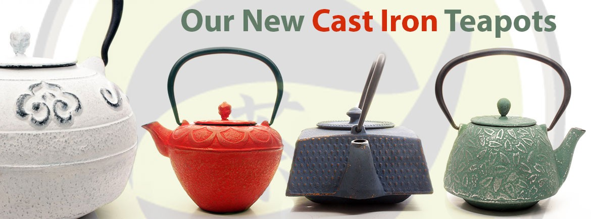New Cast Iron Teapots